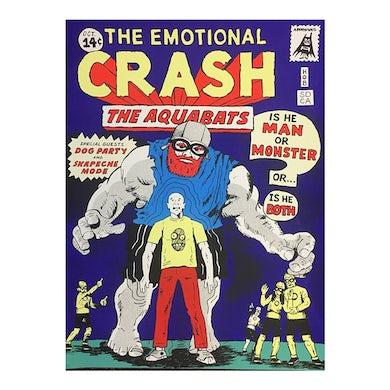 The Aquabats Emo Crash Poster