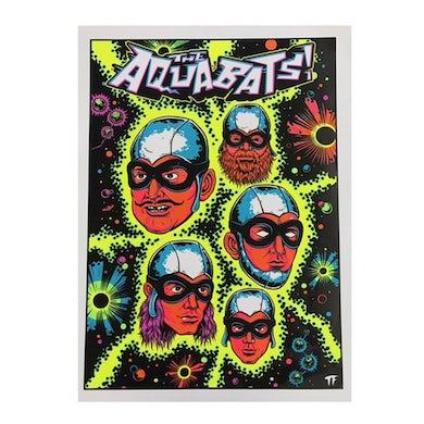 The Aquabats Blacklight Poster