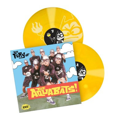 The Fury Of The Aquabats Remastered 2xLP (Yellow)