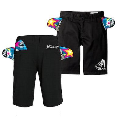 The Aquabats Nano Bat Shorts (Black)