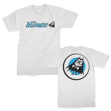 The Aquabats Classic Logo Tee (White)