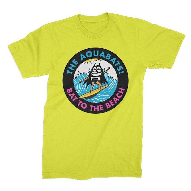 The Aquabats Bat To The Beach Tee (Neon Yellow)