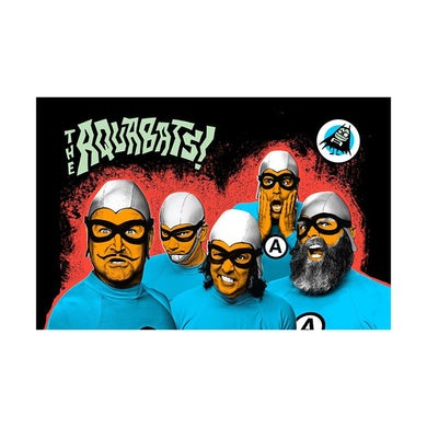 The Aquabats Band Photo Print (Red)