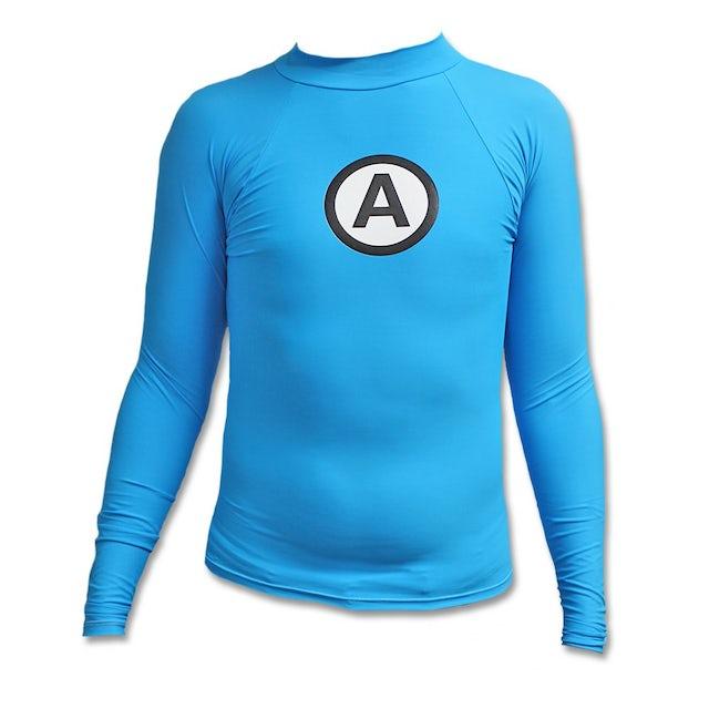 The Aquabats Logo Rash Guard - Blue