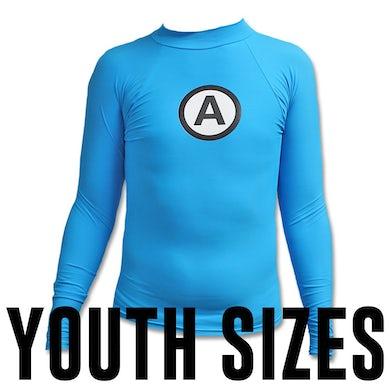 The Aquabats Logo Rash Guard Youth - Blue
