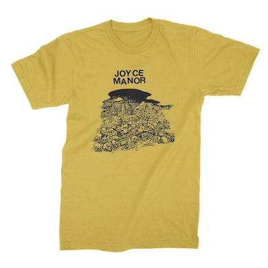Joyce Manor Skulls T-Shirt (Gold)