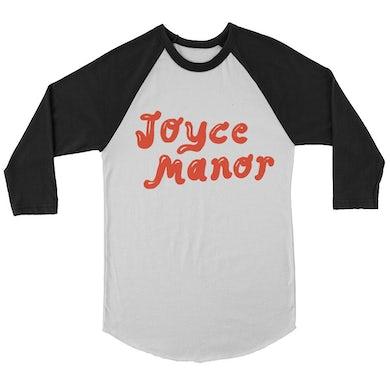 Joyce Manor Milkshake Logo Raglan (White/Black)
