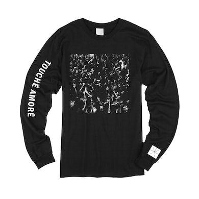 Touche Amore Live Photo Long Sleeve T-Shirt (Black)