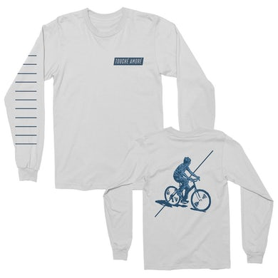 Touche Amore Bicycle Long Sleeve (White)