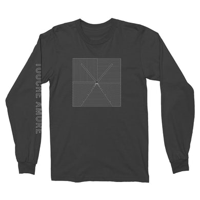 Touche Amore Lined Logo Long Sleeve (Black)