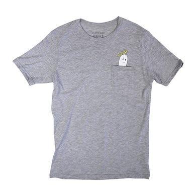 Frank Iero Boozey Pocket T-Shirt (Heather Grey)