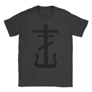 Frank Iero Cross Tee (Faded Black)