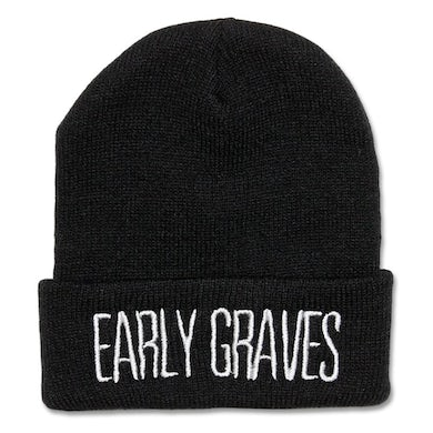 Early Graves Embroidered Logo Beanie
