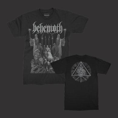 Behemoth Corpse Candle T-Shirt (Black)