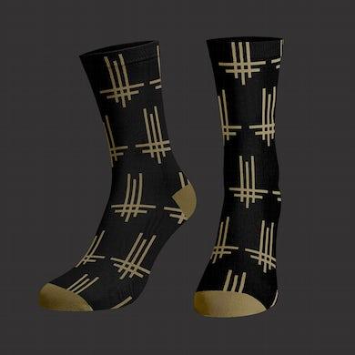 Behemoth Triumviratus Pattern Socks (Black)