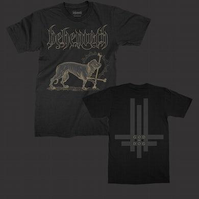 Behemoth God=Dog T-Shirt (Black)