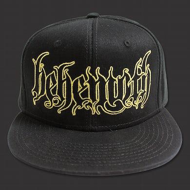 Behemoth Logo Snap Back Hat (Black)