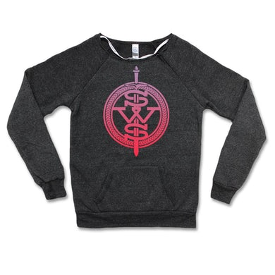 Sleeping With Sirens Women's - Pink Symbol Logo Sweatshirt