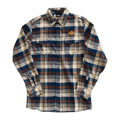 Jimmy Eat World Desert Patch Flannel (Brown)
