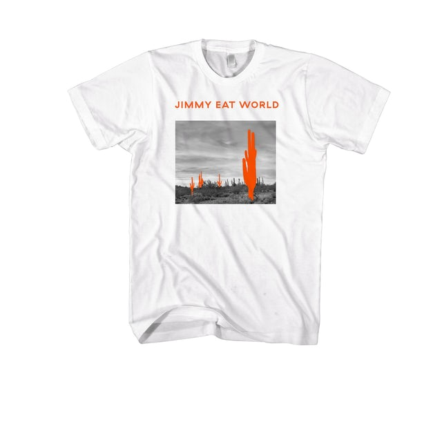 Jimmy Eat World Saguaro Tee (White)