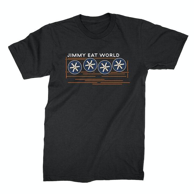 Jimmy Eat World Surviving Fans Tee (Black)