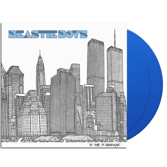 Beastie Boys To the 5 Boroughs 2xLP (180g Blue)