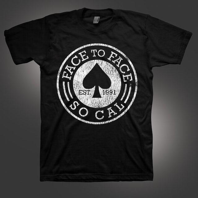 Face To Face Spade T-Shirt (Black)