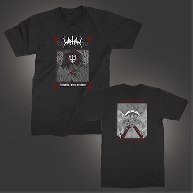 Watain Trident Wolf Eclipse T-Shirt (Black)