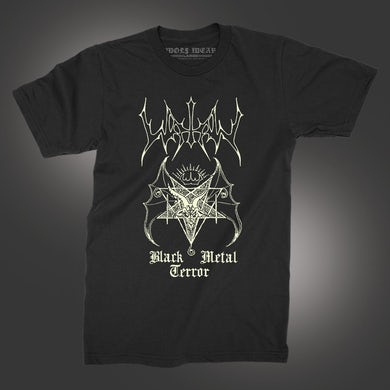 Black Metal Terror T-Shirt (Black)