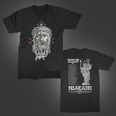Watain 2019 Winter Tour T-Shirt (Black)