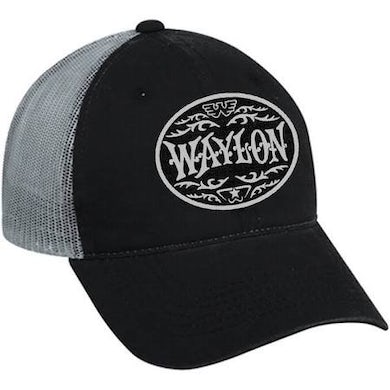 Waylon Jennings Circle Patch Trucker Hat OSFA
