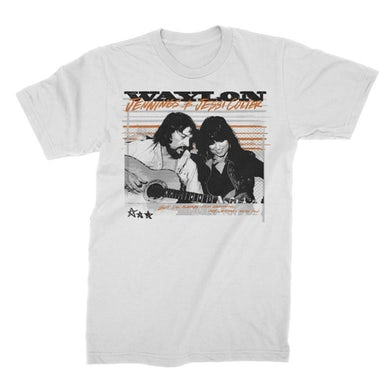Waylon Jennings Dreams Tee (White)