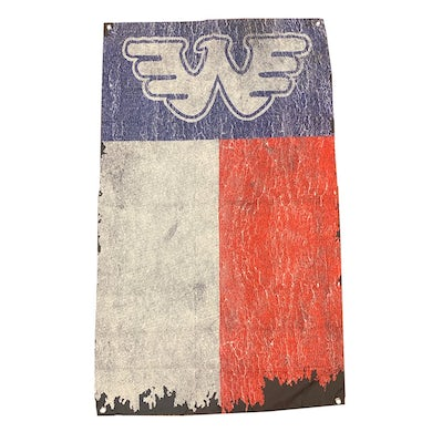 "Waylon Jennings Texas Flag 28"" x 48"""