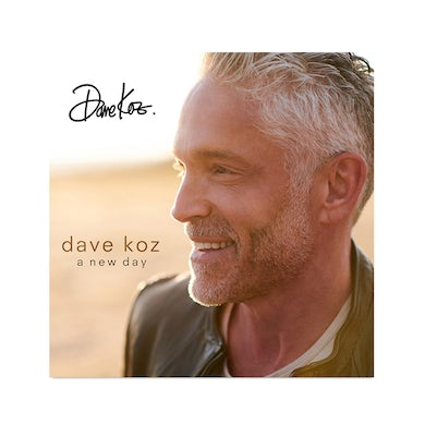 Dave Koz A New Day - CD (Signed)