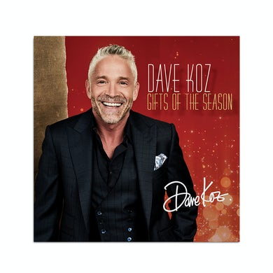 Dave Koz Gifts of the Season - CD (Signed)