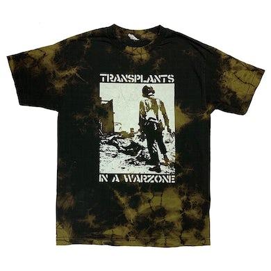 The Transplants Soldier Tee (Bleach Dye)