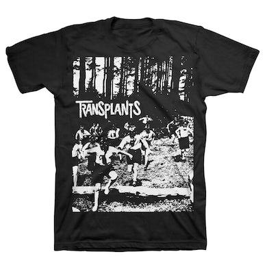 The Transplants Running Kids T-Shirt (Black)