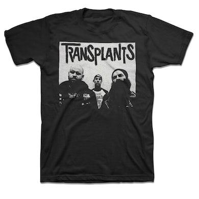 The Transplants Band Photo T-Shirt (Black)