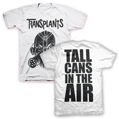 The Transplants Tall Cans T-Shirt (White)