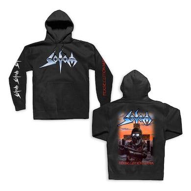 Sodom Persecution Mania Pullover Sweatshirt (Black)