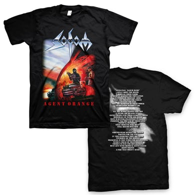 Sodom Agent Orange T-Shirt (Black)