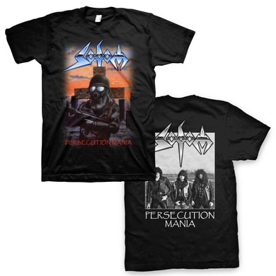Sodom Persecution Mania T-Shirt (Black)