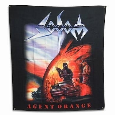 "Sodom Agent Orange Flag (48"" x 48"")"