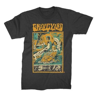 Graveyard Frogyard T-Shirt (Black)