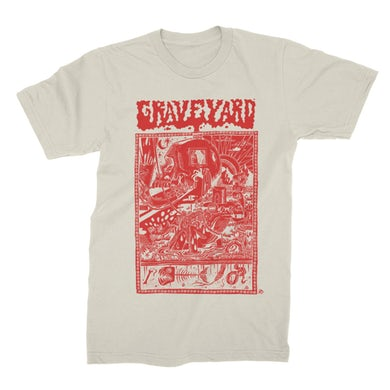 Graveyard Frogyard Tee (Natural)