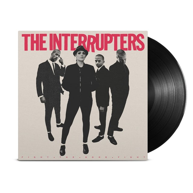 The Interrupters Fight The Good Fight LP (Black) (Vinyl)
