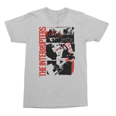 The Interrupters Don't Care T-Shirt (White)