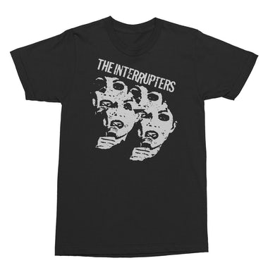 The Interrupters Faces T-Shirt (Black)