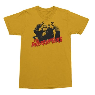 The Interrupters Clash T-Shirt (Yellow)