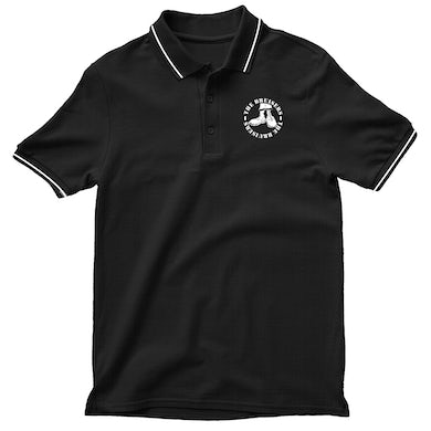 Bruisers Boots Logo Embroidered Polo (Black)